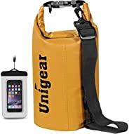 Unigear Dry Bag Waterproof, Floating and Lightweight Bags for Kayaking, Boating, Fishing, Swimming and Camping