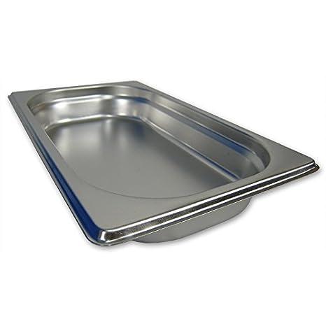 200mm Tiefe aus Edelstahl GN Behälter Gastronorm Behälter 1//4 20mm
