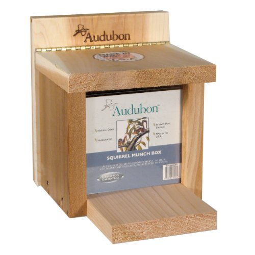 Woodlink NASQBOX Audubon Squirrel Munch Box Feeder by Woodlink