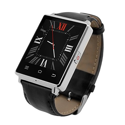 Bluetooth Smart Watch With Sim Card Slot For Iphone And Android Smartphones  Dtno 1 D6 Smartwatch Wifi 3G Network Support Leather Band