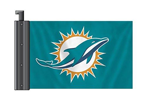 NFL Miami Dolphins Antenna Flag, 3.75