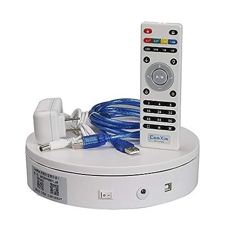 Amazon.com: ComXim 360° Electric Rotating Turntable for ...