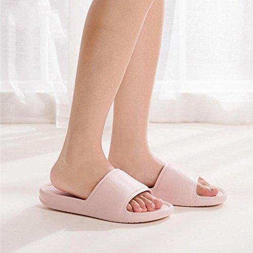 Chaussures D'été Chaussures Slippers Bains Eau Piscine Non Doux De On Tongs Salle Sole Mousse Slip Femmes Hommes purple Slip Douche Mule Maison CxOOfq
