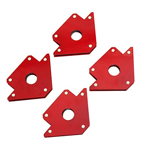 Welding Magnet New Set Tig Arc Mig Magnetic Welding Square 4 Pack 50lb (76002) by TANKSTORM
