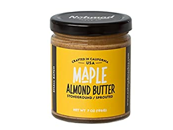 Nohmad Snack Co - Sprouted & Stoneground Maple Almond Butter