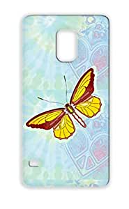 Butterfly Gold Pupa Moths Insects Larva Animals Nature Butterfly Wings Flight Egg Protective Case For Sumsang Galaxy S5