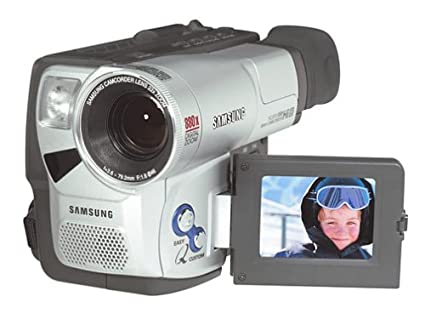 amazon com samsung scl810 hi8 camcorder with 2 5 lcd discontinued rh amazon com Samsung Camcorder SCL700 Manual AV Cable Samsung SCL906