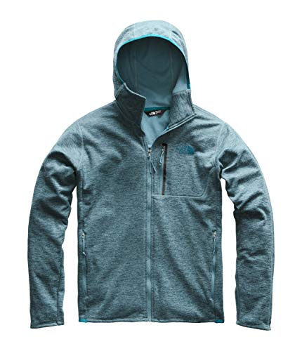 The North Face Men's Canyonlands Hoodie, Storm Blue Heather, Size XL