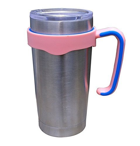 Handle for 20 Oz YETI Rambler Tumbler and RTIC,Pink(Handle only)
