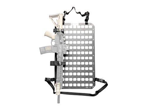 (Grey Man Tactical Rigid Insert Panel MOLLE (RIP-M) - 15.25in x 25in)