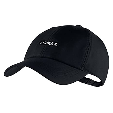 dd56f3a1b1f NIKE Mens U NSW AROBILL H86 Cap Air Max 891285-010 - Black Black White   Amazon.ca  Sports   Outdoors