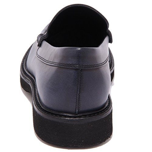 3835Q mocassino uomo HOGAN ROUTE blu scarpa shoe men Blu