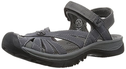 KEEN Women's Rose Sandal, Magnet/Gargoyle, 8.5 M US from KEEN