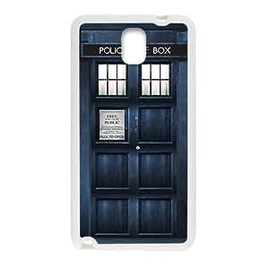 SANYISAN Police Box White samsung galaxy note3 case
