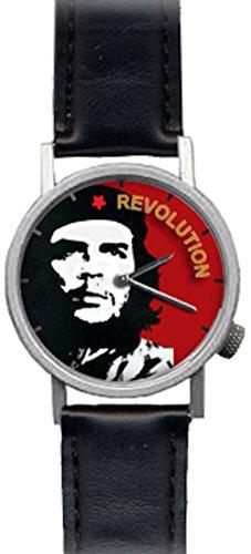 Che Guevara Revolution Watch - Unisex Analog Novelty Gift Watch (Tin Man Nose)