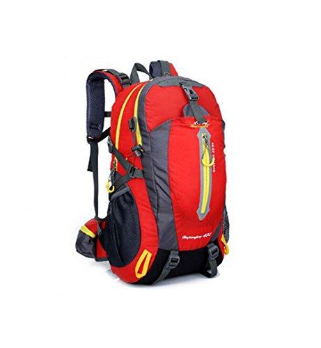 Wmshpeds 40L profesional alpinismo bolsa multi-funcional deportes hombro hombres y mujeres bolsa de viaje al aire libre A