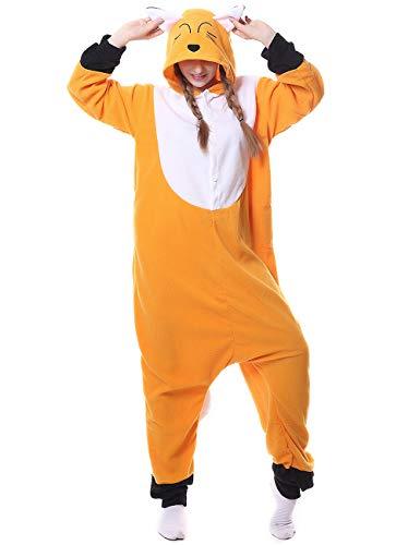 Fox Onesies Adult Pajamas Plus One Piece Cosplay