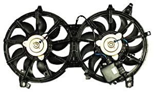 TYC 621840 Infiniti G35 Replacement Radiator/Condenser Cooling Fan Assembly