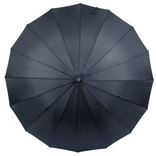 煌(kirameki)耐風傘インディゴ(濃紺)【直径108cmのジャンボサイズ/専用特注ボックス入り/選べる10カラー/デュポン社製撥水加工】