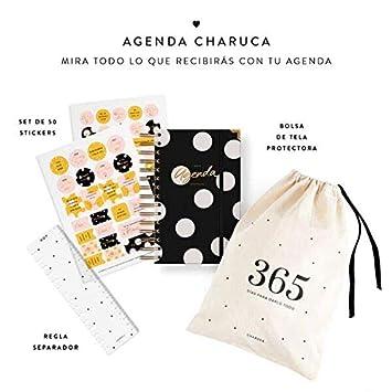 Charuca AG54 - Agenda, color negra