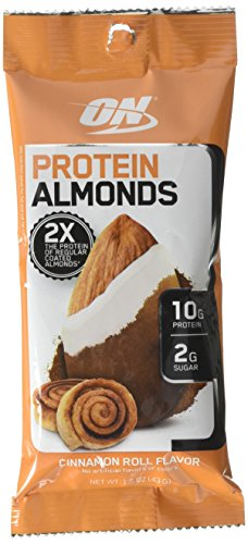 Optimum Nutrition Protein Almonds Cinnamon