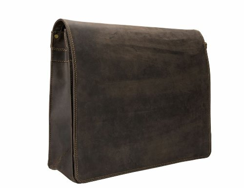 Visconti Visconti Harvard X-large Crossbody Messenger Bag, Brown, One Size