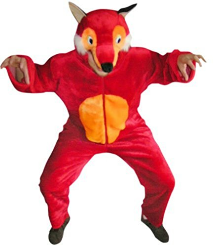 Fantasy World Adults Fox Costume 8-10 / M (Good Costume Ideas For Guys)