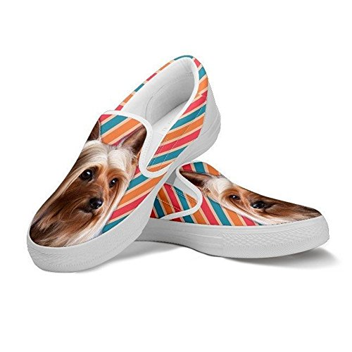 Slip Ons Terrier Cute For Women's Slip Ons Australian Silky Shoes Print Breed Your Dog Women Choose Pet 1dxdYF4qw