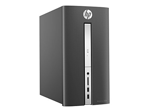 Price comparison product image CUK HP Pavilion 570 Tower PC (Intel Pentium G4560, 16GB DDR4 RAM, 128GB SSD + 1TB HDD, NVIDIA Geforce GTX 1050 Ti 4GB, Windows 10 Home) - Business and Home Desktop Computer (Refurb)