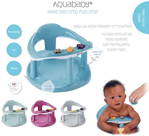 Thermobaby Aquababy Bath Ring Cornflower Blue