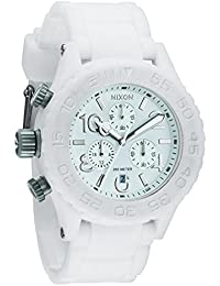 Rubber 42-20 Chrono Watch - Men/Women White, One Size