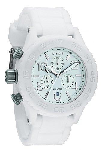 Nixon Rubber 42-20 Chrono Watch -  Men/Women White, One Size