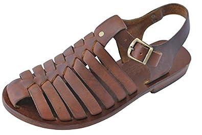 d37f10a3d on sale Bodrum Sandal Men s Handmade Leather Sandal Doros (45 EU MEN ...