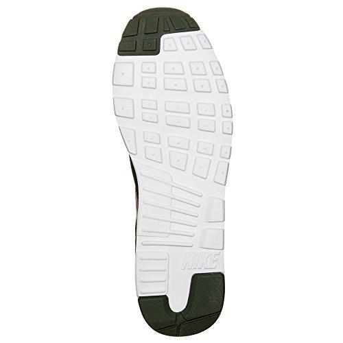 Scarpe Nike da Carbon Black black Ginnastica white Uomo Green Air Tavas Max gqgnwZRt6