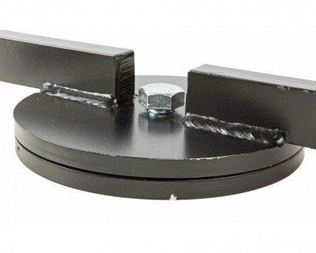 Moteur Support de montage SIP Noir de Poudr/é pivotant et rotatif