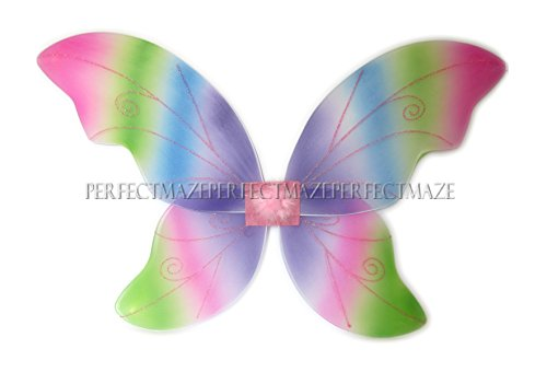 Rainbow Fairy Adult Costumes (Perfectmaze Large Adult 34