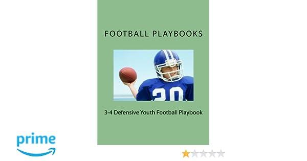 3-4 Defensive Youth Football Playbook: Football Playbooks