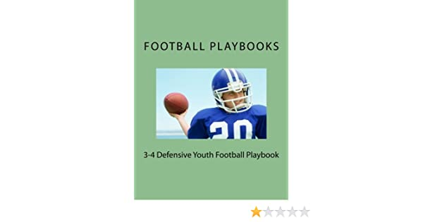 3 4 Defensive Youth Football Playbook Playbooks Football