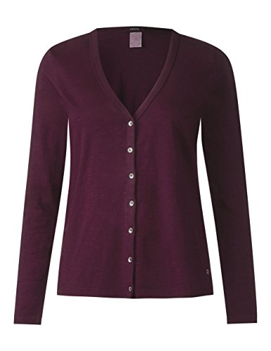 11343 Cecil Rosso Donna Loganberry Deep Cardigan pRS1wq4