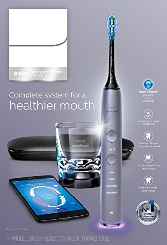 Philips Sonicare Diamondclean Smart-9300 Series Sonic Electric Toothbrush with Bluetooth & App - Grey, 1.22 Pound by Philips Sonicare (Image #7)