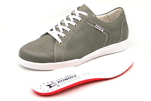 Zapatos Mujer Mephisto Cordones De Gris Para Rqx70YwO