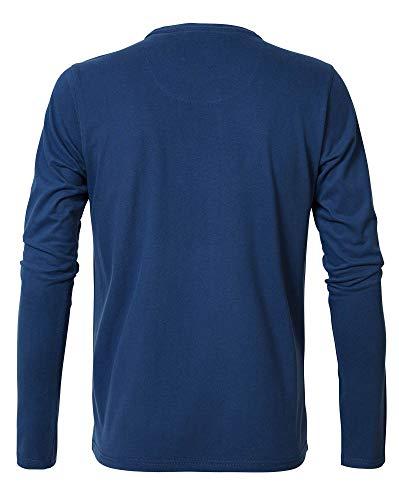Petrol T Turquoise Industries dark Blu Uomo shirt 5077 BqBgzHr