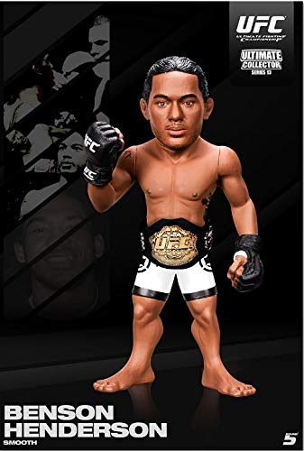 (UFC Ultimate Collector Series 13 Benson Henderson Action Figure, Championship Edition)