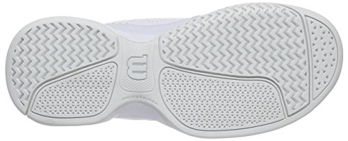 Wilson Open White Grey Zapatillas Ice Wil Tenis W 2 Mujer para de Blanco Steel Gray Rush 0 Brw4B
