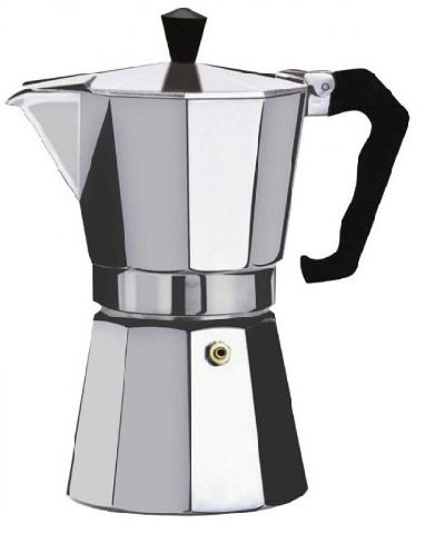 Aluminium Stovetop Espresso Maker Pot for Coffee - 3 Cup Size
