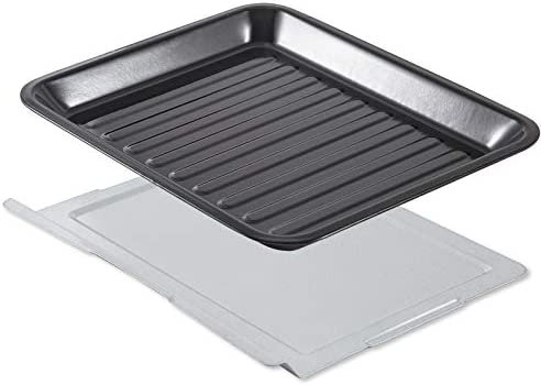 COSORI C130-TS Nonstick for CO/CS 130 Series, BPA unfastened Air Fryer Toaster Oven Accessory Food Crumb Tray Set, 30L, Black