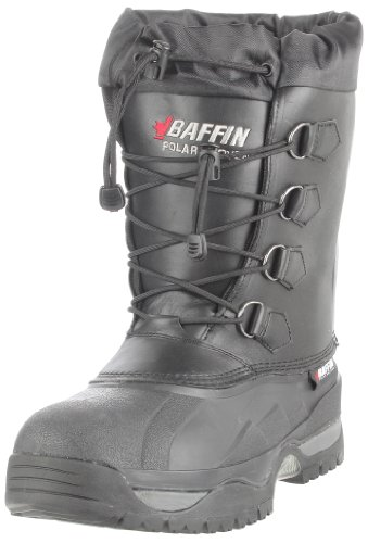 Baffin Men's Shackleton Snow Boot,Black,12 M US