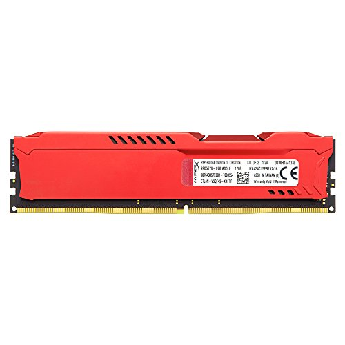 Kingston Technology HyperX FURY Red 16GB 2400MHz DDR4 CL15 DIMM Kit of 2 1Rx8 (HX424C15FR2K2/16) by HyperX (Image #3)