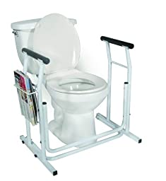 Toilet/Commode Safety Rail - World Wide Shipping