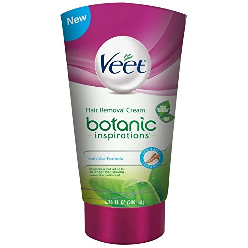 Veet Botanic Inspirations Gel Cream, 6.78 oz., for Legs & Body